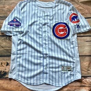 hot sales b6f8c ea3f0 Javier Baez Chicago Cubs Gold Jersey NWT